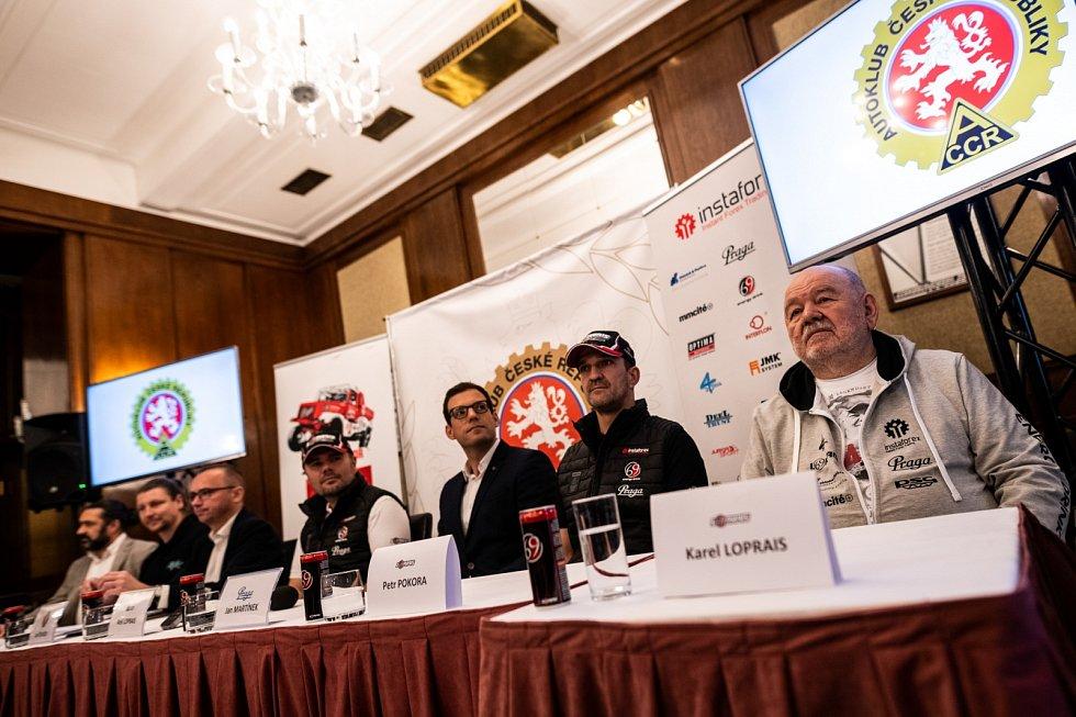 Tisková konference Loprais Teamu