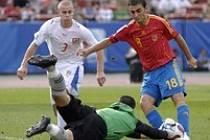 Česko 20 - Španělsko 20: Petr, Lopez, Kubáň