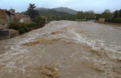 Oblast Aude na jihu Francie postihly rozsáhlé záplavy.
