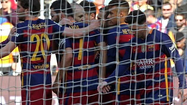 Radost z gólu: Barcelona smetla Getafe