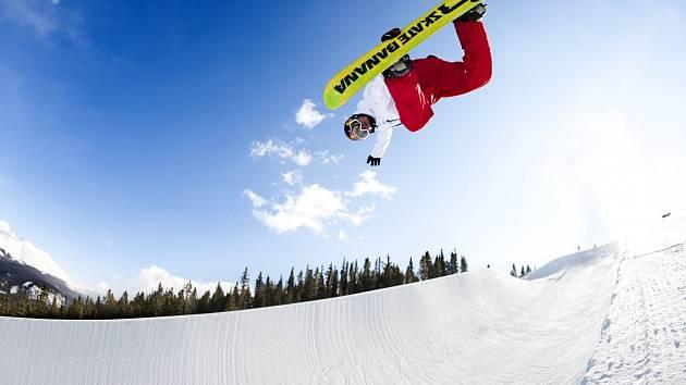Ikona českého snowboardingu Martin Černík.