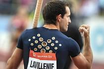 Hvězdný tyčkař Renaud Lavillenie.