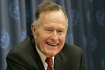 Bývalý americký prezident George Bush starší.