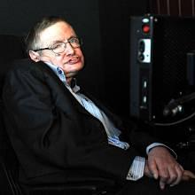 Světoznámý britský vědec Stephen Hawking.