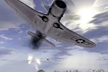 Počítačová hra Battlefield 1942.
