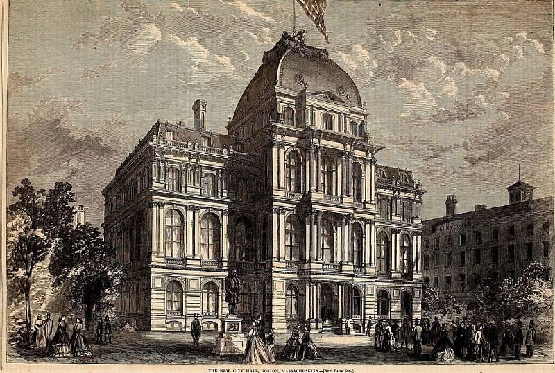 Stará bostonská radnice