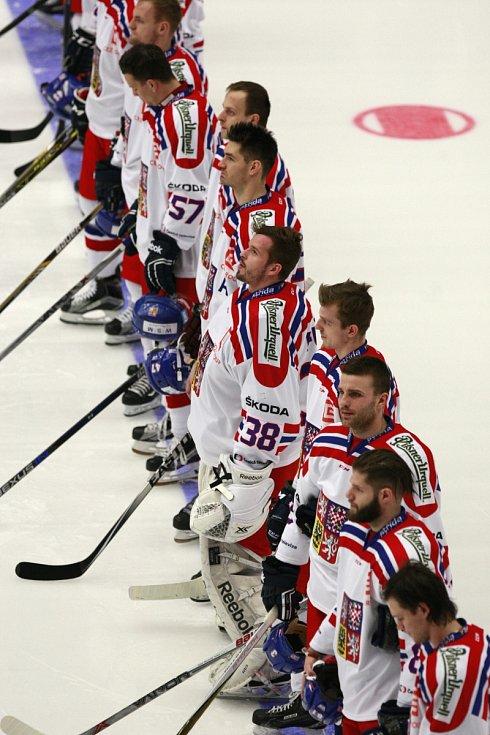 Čeští hokejisté.