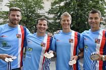 Jakub Špicar, Daniel Havel, Radek Šlouf, Jan Štěrba