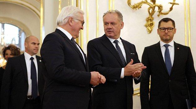 Andrej Kiska a Frank-Walter Steinmeier