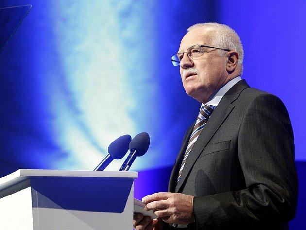 Václav Klaus se na kongresu ODS vzdal funkce čestného předsedy