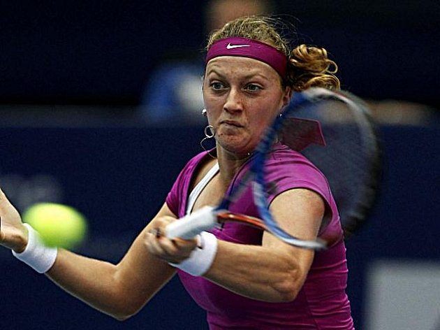 Petra Kvitová postoupila na turnaji v Linci do finále.
