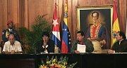 Venezuelský prezident Hugo Chávez věří ve státní kontrolu klíčových průmyslových odvětví.