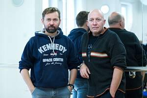 Robert Jašków (vpravo) a Petr Lněnička jako Litviněnko