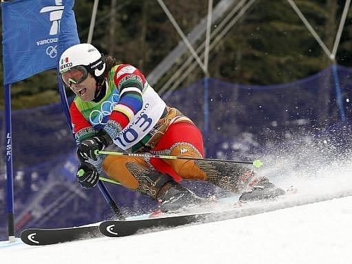 Princ Hubertus von Hohenlohe v jednapadesáti letech brázdí olympijské svahy ve Vancouveru.
