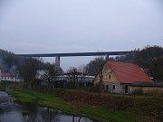 Dálniční most nad Velkým Meziříčím