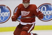 Tomáš Nosek v dresu Detroitu