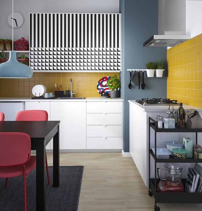 Nejčastějším tvarem kuchyňských linek je L, které se hodí do menších i velkých kuchyní.