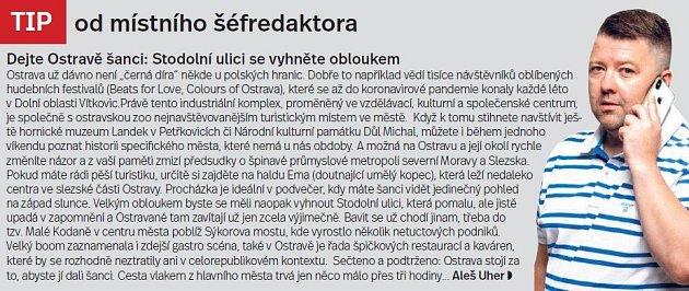 Ostrava, tip šéfredaktora