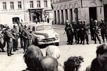Praha srpen 1969