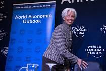 Ředitelka Mezinárodního měnového fondu na Světovém ekonomickém fóru v Davosu