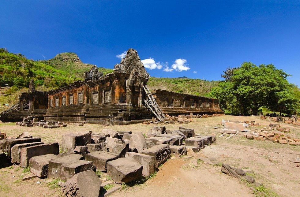 Chrámový komplex Vat Phou v Laosu
