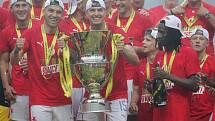 Tuto trofej můžete v pondělí 20. září vidět ve Zlíně.