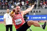 Tomáš Staněk ve finále vrhu koulí na MS v Dauhá
