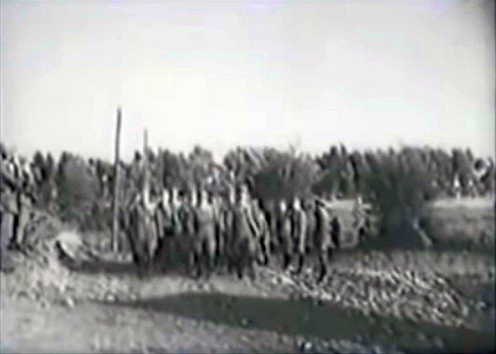 Dvaadvacátý prapor maďarské pohraniční stráže překročil v září 1940 rumunské hranice