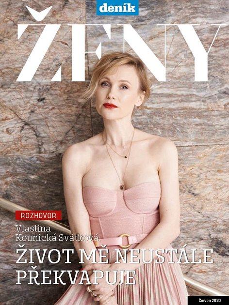 Titulní strana magazínu Ženy