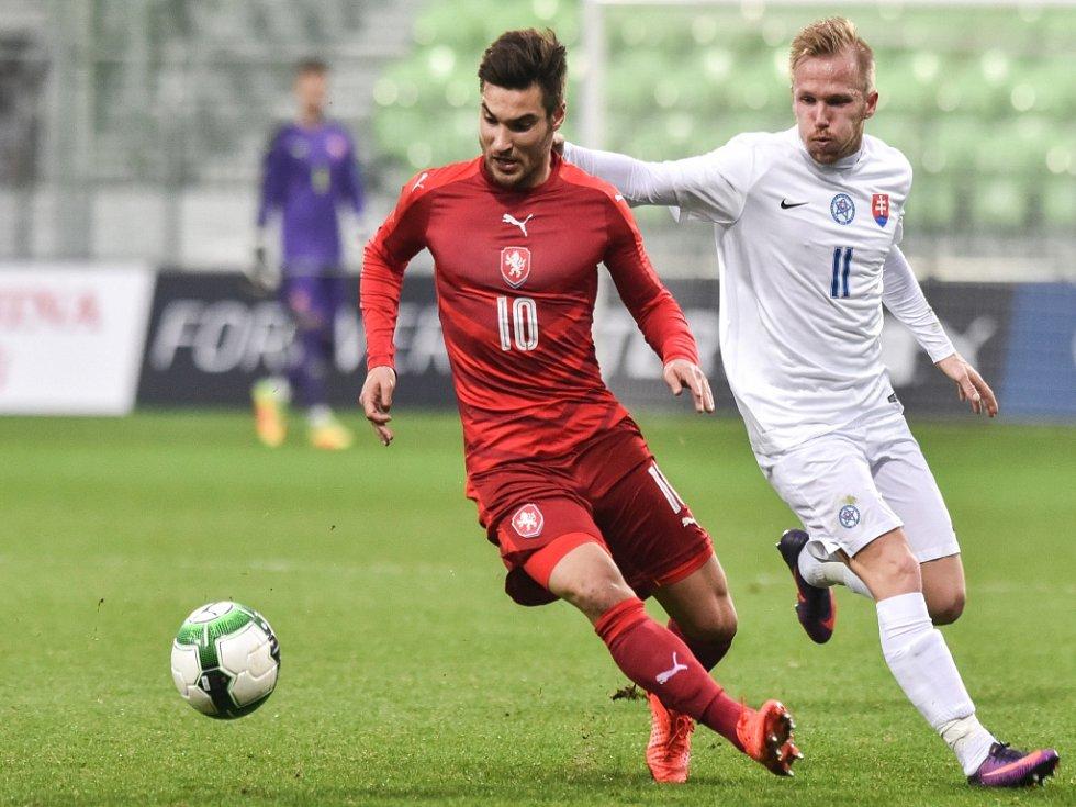Michal Trávník (vlevo) a Tomáš Brigant ze Slovenska.