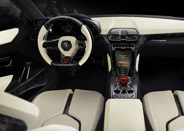 Koncept Lamborghini Urus.