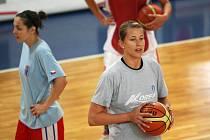 České basketbalistky v závěrečné fázi přípravy na Peking.