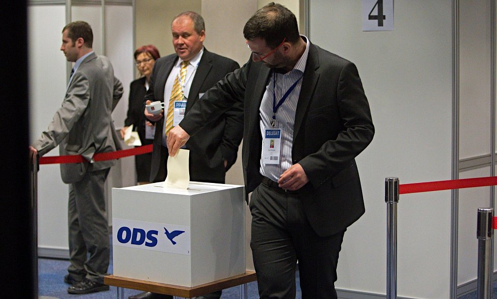 Volba místopředsedy. Třetí kolo druhé volby.