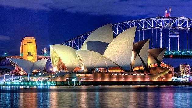 Budova opery v Sydney