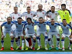 Čeští fotbalisté před duelem s Chorvatskem.