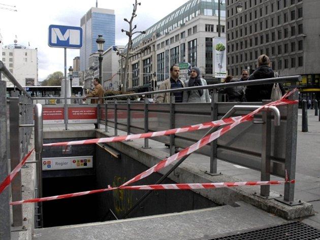 V Bruselu stále nejezdí metro, autobusy a tramvaje hromadné dopravy.