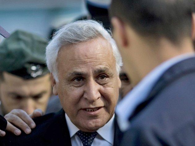 Bývalý izraelksý prezident Moše Kacav.