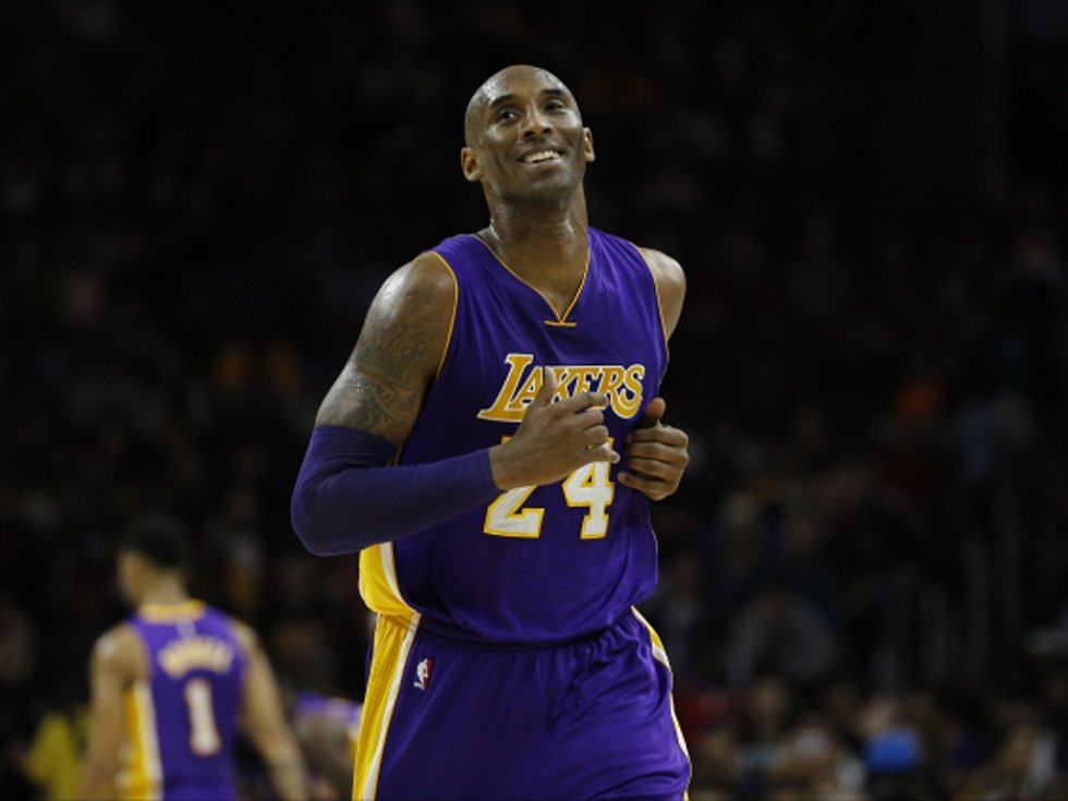 Kobe Bryant z LA Lakers.