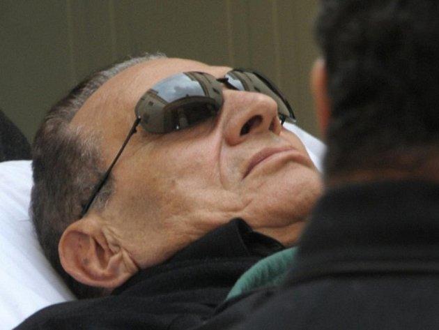 Exprezident Egypta Husní Mubarak.