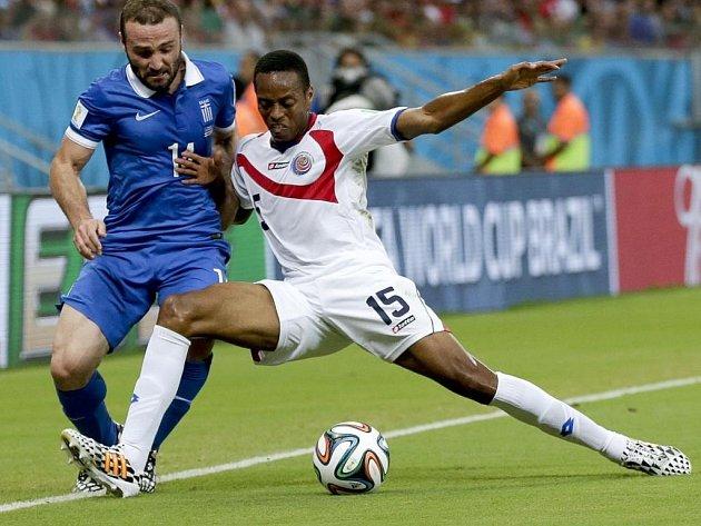 To je on. Kostarický obránce Junior Díaz je zatím nejrychlejším hráčem fotbalového mistrovství světa.