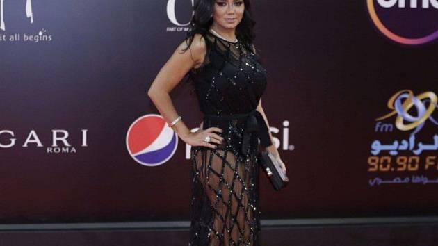 Egyptská herečka Raina Youssefová