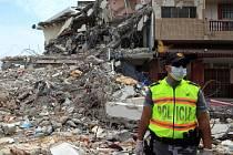 Zemětřesení o síle 7,8 stupně postihlo pobřeží Ekvádoru v sobotu 16. dubna večer místního času.