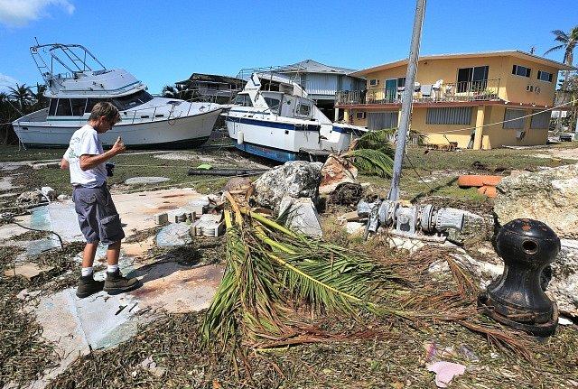 Následky hurikánu Irma na Floridě