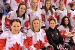 Kanadské hokejové krásky