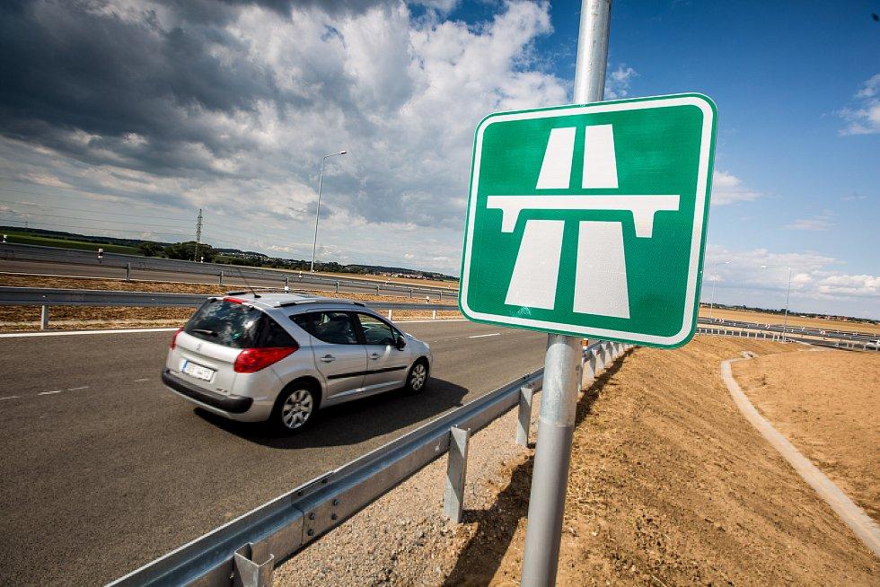Dálnice, elektronická dálniční známka. Ilustrační foto