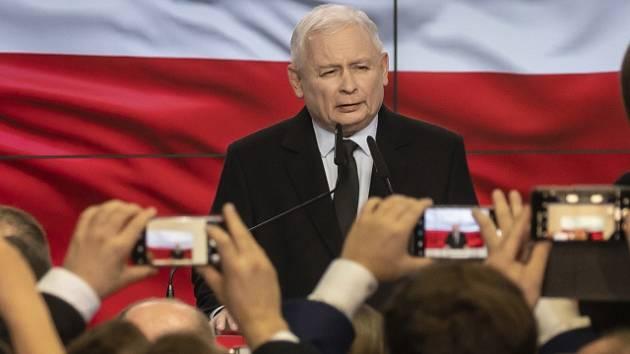 Předseda PiS Jaroslaw Kaczynski