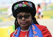 Panamská fanynka. Fotbalové MS Rusko 2018