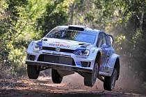 Sébastien Ogier na Australské rallye