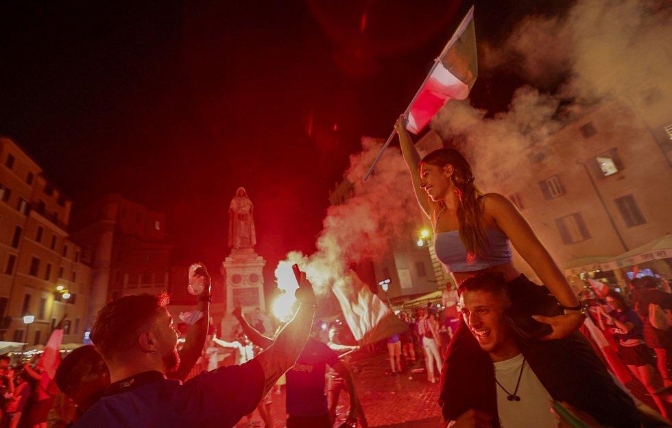 Finále mistrovství Evropy ve fotbale: Euforie v Římě
