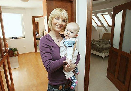 Petra Paroubková ukázala Deníku nový byt v Teplicích